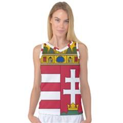 Coat of Arms of Hungary Women s Basketball Tank Top