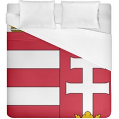 Coat of Arms of Hungary Duvet Cover (King Size)