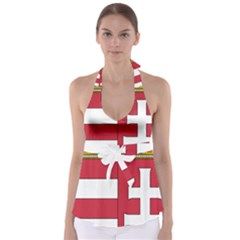 Coat of Arms of Hungary Babydoll Tankini Top