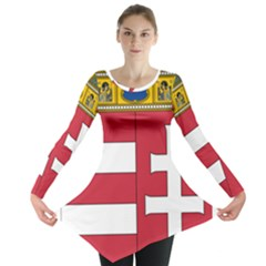 Coat of Arms of Hungary Long Sleeve Tunic