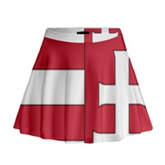Coat of Arms of Hungary Mini Flare Skirt