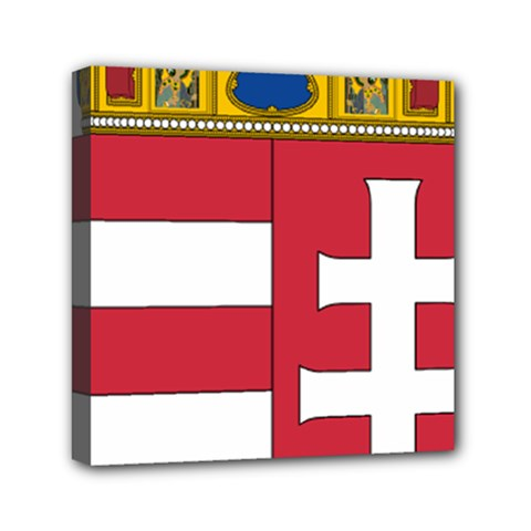 Coat of Arms of Hungary  Mini Canvas 6  x 6