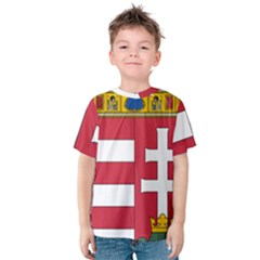 Coat of Arms of Hungary  Kids  Cotton Tee
