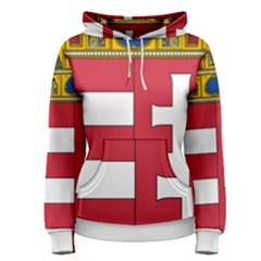 Coat of Arms of Hungary  Women s Pullover Hoodie