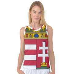 Coat of Arms of Hungary  Women s Basketball Tank Top