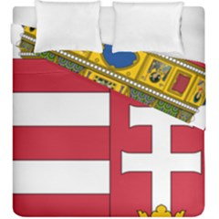Coat of Arms of Hungary  Duvet Cover Double Side (King Size)