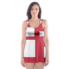 Coat of Arms of Hungary  Skater Dress Swimsuit