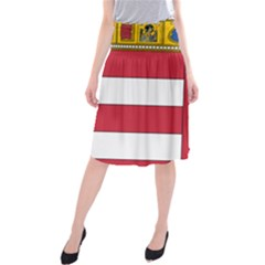 Coat of Arms of Hungary  Midi Beach Skirt