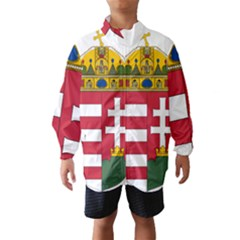 Coat of Arms of Hungary  Wind Breaker (Kids)