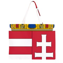 Coat of Arms of Hungary  Large Tote Bag