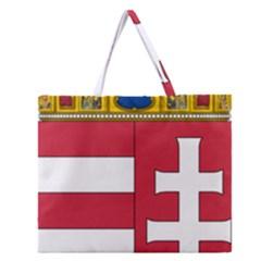 Coat of Arms of Hungary  Zipper Large Tote Bag