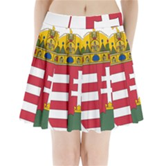 Coat of Arms of Hungary  Pleated Mini Skirt