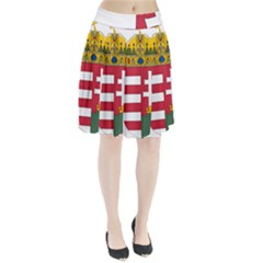 Coat of Arms of Hungary  Pleated Skirt