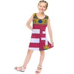 Coat of Arms of Hungary  Kids  Tunic Dress