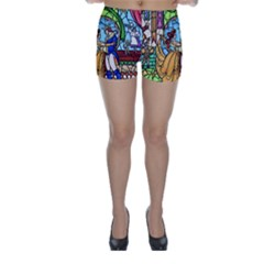 Happily Ever After 1   Beauty And The Beast Skinny Shorts