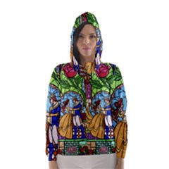Happily Ever After 1   Beauty And The Beast Hooded Wind Breaker (Women)