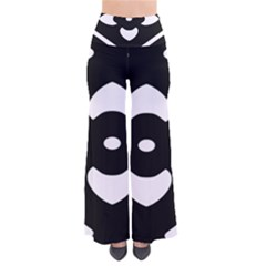 Black And White Pattern Background Pants