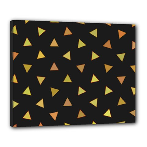 Shapes Abstract Triangles Pattern Canvas 20  X 16