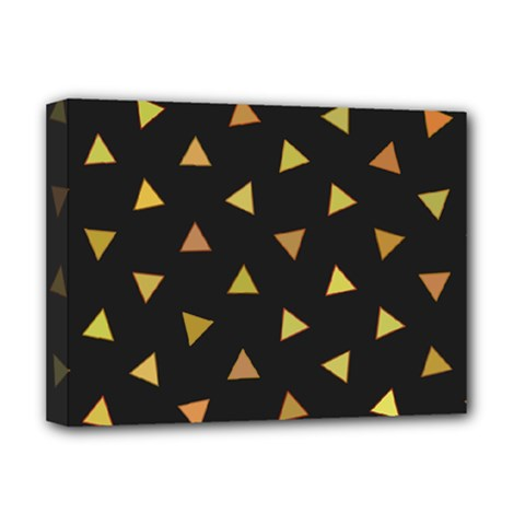 Shapes Abstract Triangles Pattern Deluxe Canvas 16  X 12