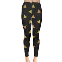 Shapes Abstract Triangles Pattern Leggings
