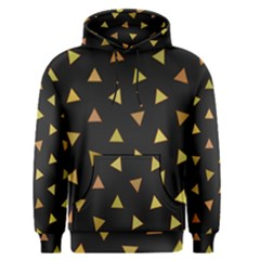 Shapes Abstract Triangles Pattern Men s Pullover Hoodie