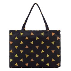 Shapes Abstract Triangles Pattern Medium Tote Bag