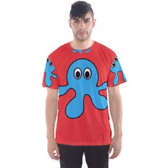 Creature Forms Funny Monster Comic Men s Sport Mesh Tee