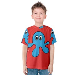 Creature Forms Funny Monster Comic Kids  Cotton Tee