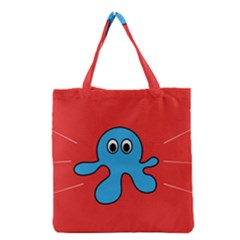 Creature Forms Funny Monster Comic Grocery Tote Bag