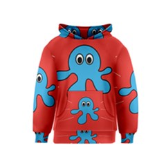 Creature Forms Funny Monster Comic Kids  Pullover Hoodie