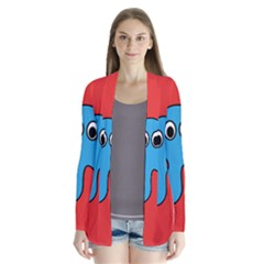 Creature Forms Funny Monster Comic Cardigans