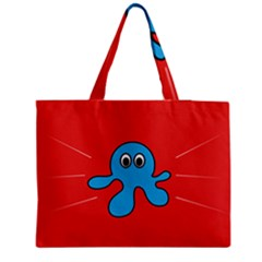 Creature Forms Funny Monster Comic Medium Tote Bag