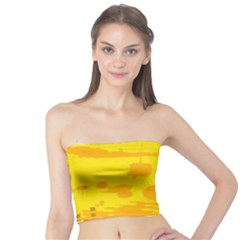 Texture Yellow Abstract Background Tube Top