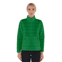 Pattern Green Background Lines Winterwear