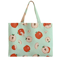 Apple Fruit Background Food Zipper Mini Tote Bag