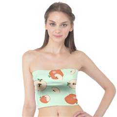Apple Fruit Background Food Tube Top