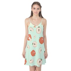 Apple Fruit Background Food Camis Nightgown