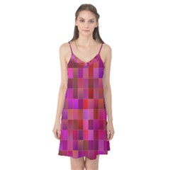 Shapes Abstract Pink Camis Nightgown