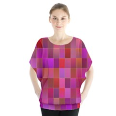 Shapes Abstract Pink Blouse