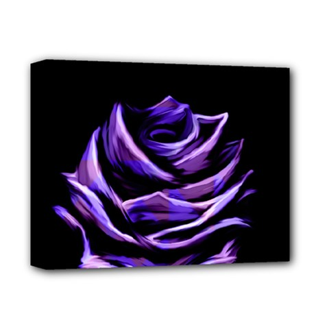 Rose Flower Design Nature Blossom Deluxe Canvas 14  x 11