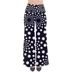 Dot Dots Round Black And White Pants