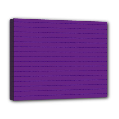 Pattern Violet Purple Background Deluxe Canvas 20  X 16