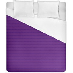 Pattern Violet Purple Background Duvet Cover (california King Size)