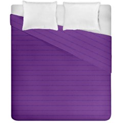 Pattern Violet Purple Background Duvet Cover Double Side (california King Size)