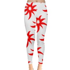 Star Figure Form Pattern Structure Leggings