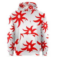 Star Figure Form Pattern Structure Men s Pullover Hoodie