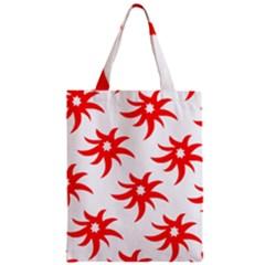 Star Figure Form Pattern Structure Zipper Classic Tote Bag