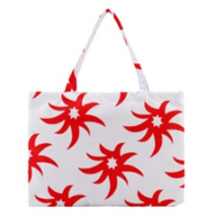 Star Figure Form Pattern Structure Medium Tote Bag