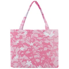 Plant Flowers Bird Spring Mini Tote Bag