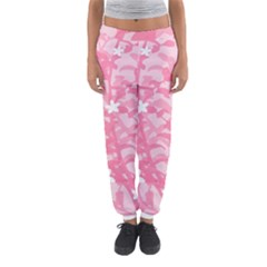 Plant Flowers Bird Spring Women s Jogger Sweatpants